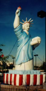 Statue of Liberty custom advertising inflatable for Rent in Phoenix