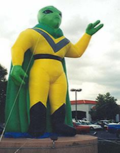 Alien Advertising Inflatables Phoenix